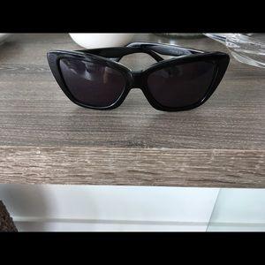Derek Lam Amari black sunglasses